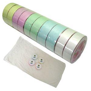 圧縮タオル(マジックタオル)10枚セット - 拡大画像