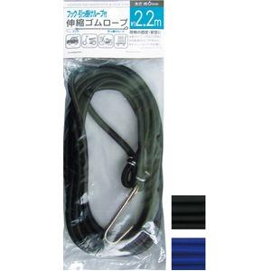 807自転車ロープ 2.2m 【12個セット】 40-807