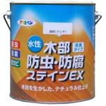 水性木部防虫・防腐ステインEX 透明(クリヤ) 3L
