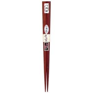 田中箸店 八角極太箸 茶 23.0cm 094236
