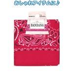 バンダナ(マゼンタ)53×53cm 35-312 【12個セット】