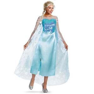 ディズニー DISNEY アナと雪の女王エルサコスチューム 大人用S - 拡大画像