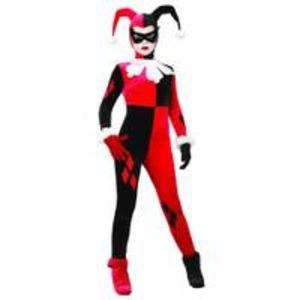 ハーレイ・クイン 大人女性用 コスチューム Adult Harley Quinn Costume 888102S - 拡大画像