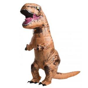 ジュラシックワールド Tレックス 膨張式 大人用 コスチューム T-Rex Adult  810481 - 拡大画像