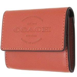 コーチ カードケース COACH アウトレット カーフ レザー ロゴ コインケース / カードケース - 拡大画像
