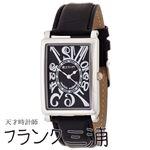 フランク三浦 FRANK MIURA 美しき革命という異名を持つ伝説の初号機 逆回転 ブラック文字盤 クオーツ メンズ 腕時計 FM01-BK