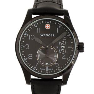 メンズウオッチ 男性用腕時計 WENGER(ウェンガー) 72475 (クォーツ・電池式・アナログ) - 拡大画像
