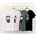 JETOY(ジェトイ) チューチューTシャツ/ルーズタイプ(ドラキュラ)WH
