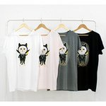 JETOY(ジェトイ) チューチューTシャツ/ルーズタイプ(パンク)WH