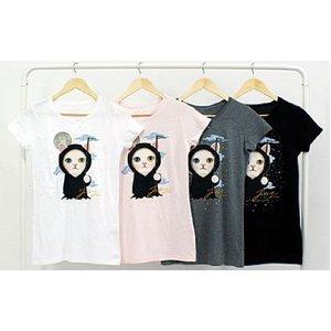 JETOY(ジェトイ) チューチューTシャツ/ベーシック(デス)WH