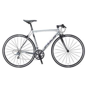 2014年モデル FUJI(フジ) ROUBAIX AURA 49cm A2-SLアルミフレーム 16speed SILVER 700 x 23C クロスバイク - 拡大画像
