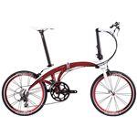 2014モデル DAHON(ダホン) Mu Elite 20インチ 20speed レーシーレッド(赤) 折りたたみ自転車