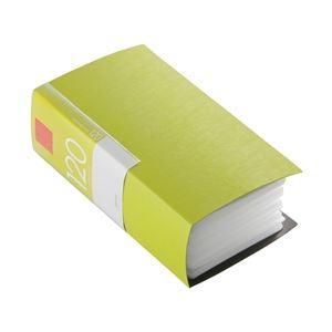 BUFFALO CD&DVDファイルケース ブックタイプ 120枚収納 グリーン