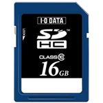 アイ・オー・データ機器 スピードクラス10対応SDHCメモリーカード 16GB SDH-T16G