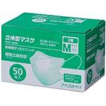アイリスオーヤマ 3層立体型マスク NM3-50RM