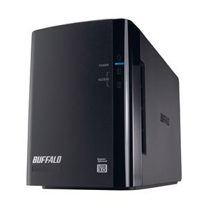 バッファロー ドライブステーション ミラーリング機能搭載 USB3.0用 外付けHDD 2ドライブモデル2TB HD-WL2TU3/R1J - 拡大画像