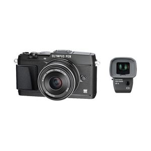 マイクロ一眼 OLYMPUS PEN E-P5 17mm F1.8レンズキット (ブラック) - 拡大画像