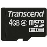 トランセンドジャパン 4GB microSDHCカード (Class 4、NoBox & Adapter) TS4GUSDC4