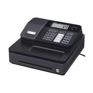 カシオ計算機(CASIO) 電子レジスター 4部門 (ブラック) SE-G1-BK - 拡大画像