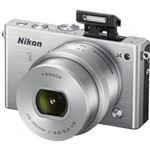 ニコン レンズ交換式アドバンストカメラ Nikon 1 J4 標準パワーズームレンズキット シルバー N1J4HPLKSL