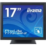 iiyama 17型液晶ディスプレイ ProLiteT1731SR-B2(抵抗膜方式タッチパネル、ブラック) T1731SR-B2