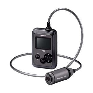 Panasonic(パナソニック)(家電) ウェアラブルカメラ (グレー) HX-A500-H - 拡大画像