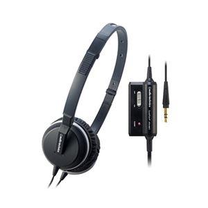 オーディオテクニカ アクティブノイズキャンセリングヘッドホン ブラック ATH-ANC1 IM - 拡大画像