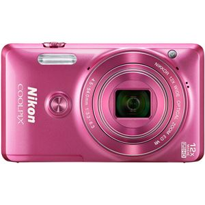 ニコン デジタルカメラ COOLPIX S6900 グロッシーピンク COOLPIXS6900PK - 拡大画像