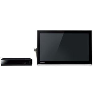 パナソニック(家電) HDDレコーダー付 ポータブル地上・BS・110度CSデジタルテレビ 15V型 (ブラック) UN-15T5-K - 拡大画像