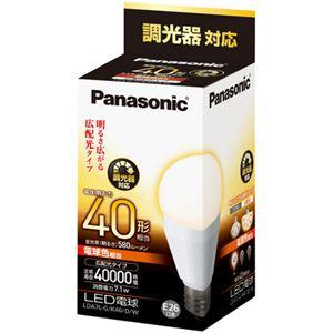 パナソニック(家電) LED電球 7.1W (電球色相当) LDA7LGK40DW - 拡大画像