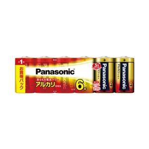 パナソニック(家電) アルカリ乾電池 単1形 6本シュリンクパック LR20XJ/6SW - 拡大画像