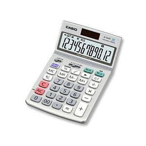 カシオ計算機 ジャストタイプ電卓 12桁 グリーン購入法適合商品 JF-120GT-N - 拡大画像