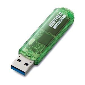 バッファロー USB3.0対応 USBメモリー スタンダードモデル 16GB グリーン RUF3-C16GA-GR - 拡大画像