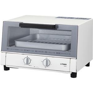 タイガー魔法瓶 オーブントースター <やきたて> ホワイト KAM-H130W - 拡大画像