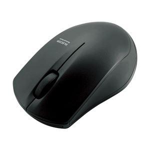 エレコム IRマウス/M-BT12BRシリーズ/Bluetooth3.0/3ボタン/省電力/ブラック M-BT12BRBK - 拡大画像