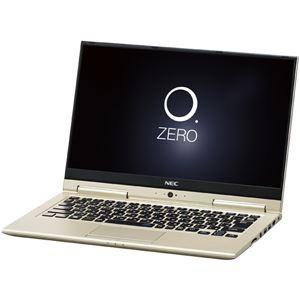 NECパーソナル LAVIE Hybrid ZERO - HZ350/GAG プレシャスゴールド PC-HZ350GAG - 拡大画像