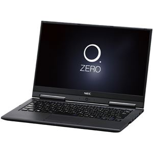 NECパーソナル LAVIE Hybrid ZERO - HZ750/GAB メテオグレー PC-HZ750GAB - 拡大画像