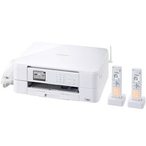 ブラザー工業 A4インクジェット複合機/FAX/6/12ipm/デジタル子機2台/無線LAN MFC-J737DWN - 拡大画像
