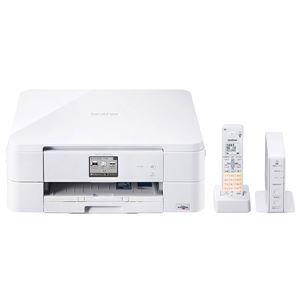 ブラザー工業 A4インクジェット複合機/FAX/10/12ipm/デジタル子機1台/無線LAN MFC-J837DN - 拡大画像