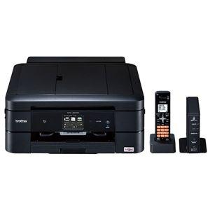 ブラザー工業 A4インクジェット複合機/FAX/10/12ipm/デジタル子機1台/両面印刷/無線LAN/ADF MFC-J907DN - 拡大画像