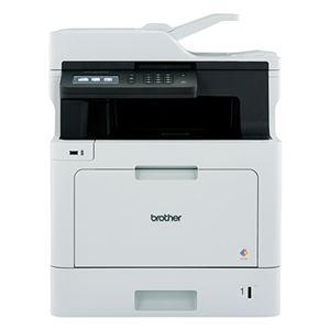 ブラザー工業 A4カラーレーザー複合機/FAX/31PPM/両面印刷/有線・無線LAN/ADF MFC-L8610CDW - 拡大画像