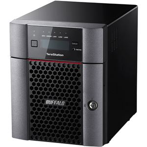 バッファロー TeraStation TS5410DNシリーズ 10GbE標準搭載 法人向け 4ドライブNAS8TB TS5410DN0804 - 拡大画像