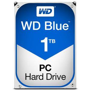 WESTERN DIGITAL WD Blueシリーズ 3.5インチ内蔵HDD 1TB SATA3(6Gb/s) 5400rpm64MB WD10EZRZ-RT