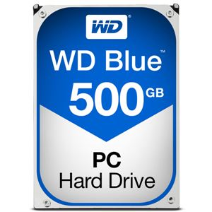 WESTERN DIGITAL WD Blueシリーズ 3.5インチ内蔵HDD 500GB SATA3(6Gb/s) 5400rpm64MB WD5000AZRZ-RT - 拡大画像
