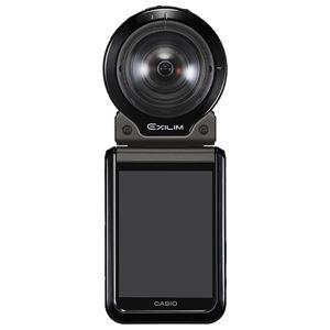 カシオ計算機 デジタルカメラ FREE STYLE EXILIM EX-FR200 ブラック EX-FR200BK