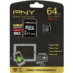 グリーンハウス microSDXCメモリーカード 64GB UHS-I Class10 アダプタ付属 防水 耐衝撃防磁 耐温 永久保証 MRSDXCPUA-64G