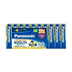 パナソニック エボルタ乾電池 単4形 20本パック LR03EJ/20SW - 拡大画像