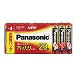 パナソニック アルカリ乾電池 単4形 20本シュリンクパック LR03XJ/20SW
