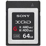 SONY XQDメモリーカード Gシリーズ 64GB QD-G64E