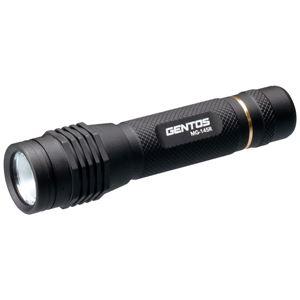 ジェントス LEDフラッシュライト MGシリーズ USB充電式 270lm MG-145R - 拡大画像